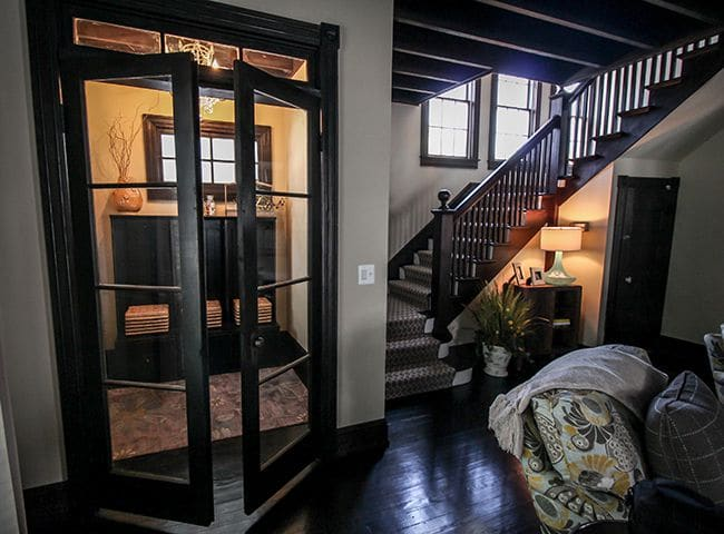 bayhead entry foyer