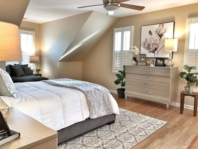 Bradley NJ Beach Bedroom Interior Design