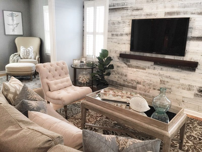 Bradley Beach Home - Living Room Interior Design