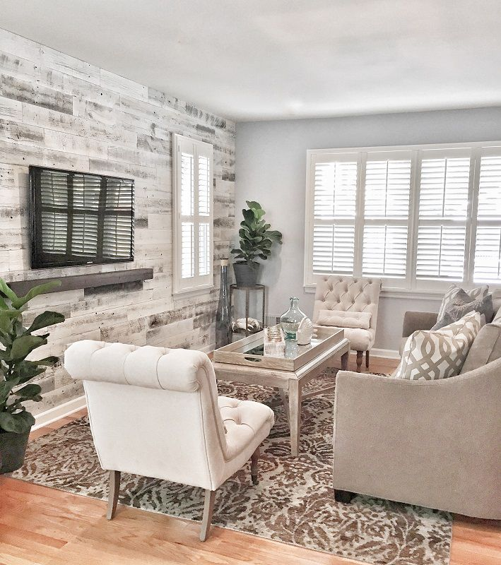 Bradley Beach Home - Living Room Interior Design 2