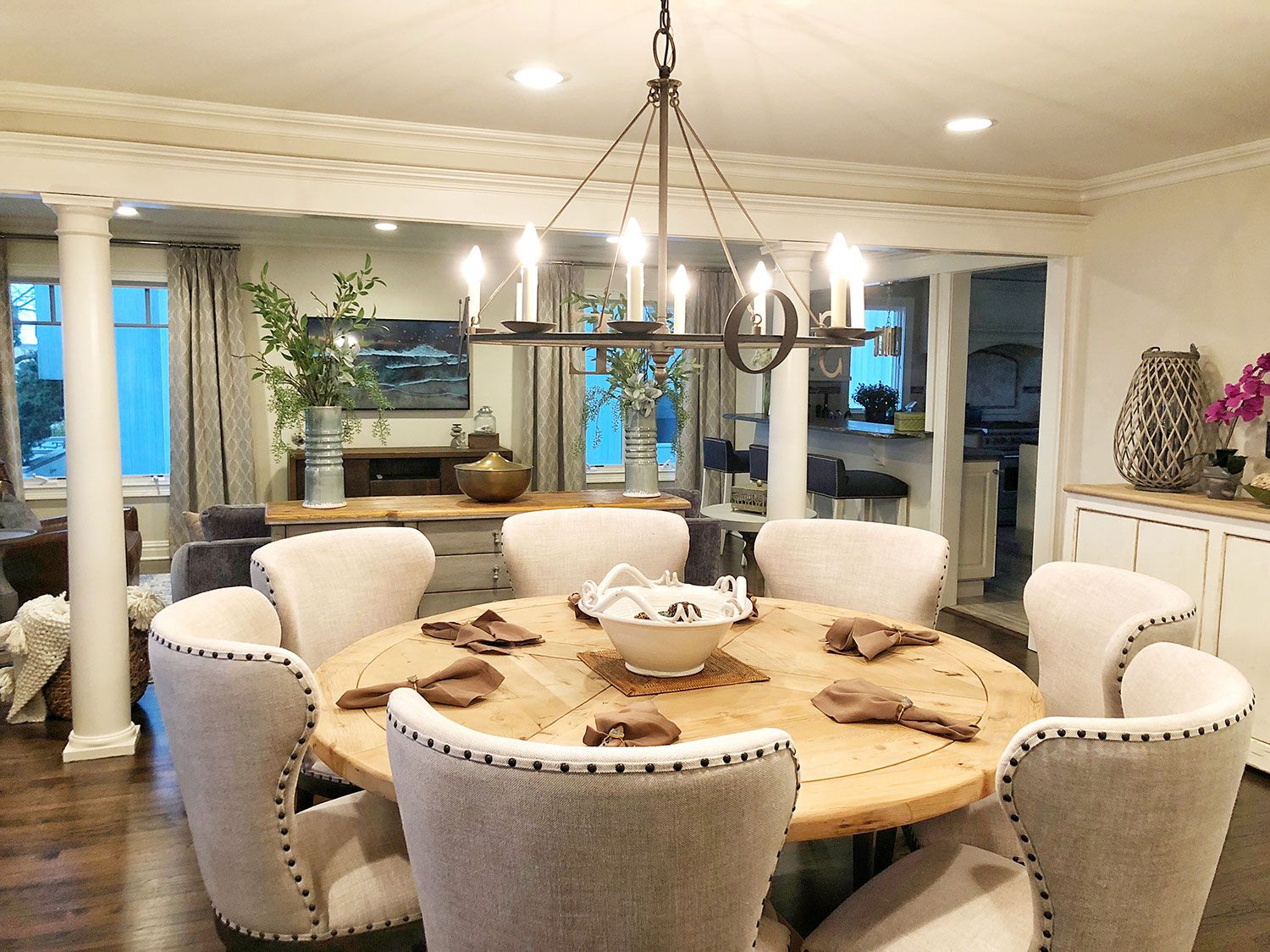 belmar, new jersey dining room interior design