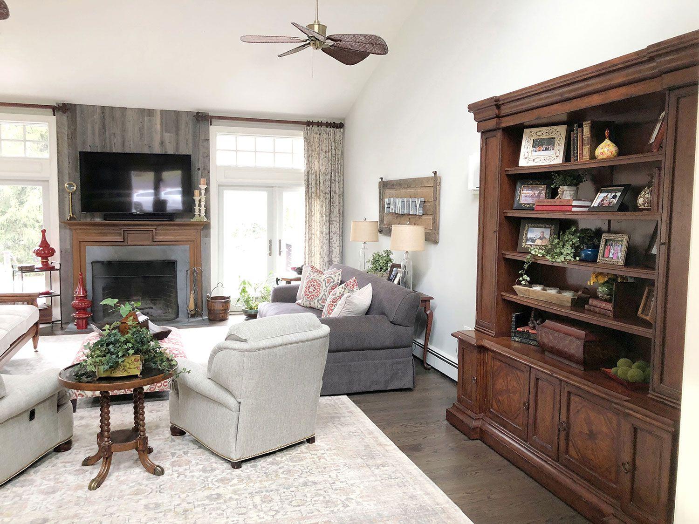 Rumson New Jersey Living Room Interior Design 4