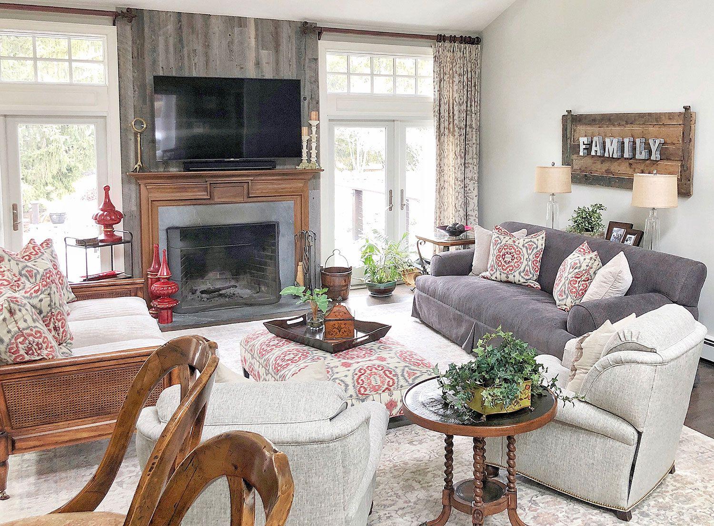 Rumson New Jersey Living Room Interior Design 5