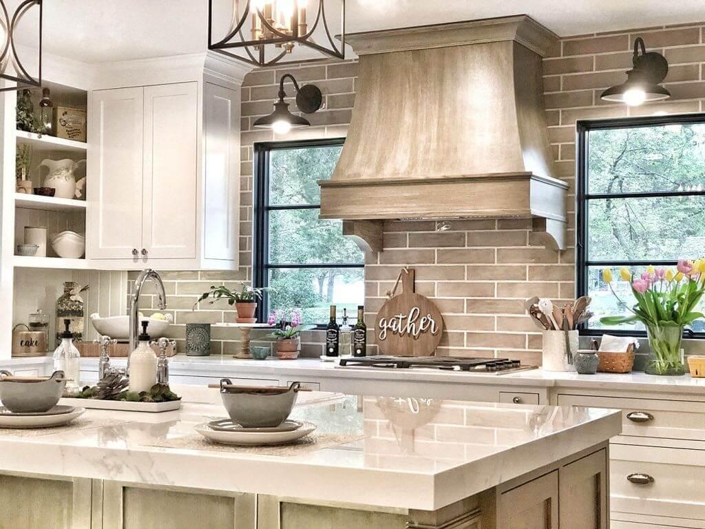Kitchen with black windows - Evenflow Interiors