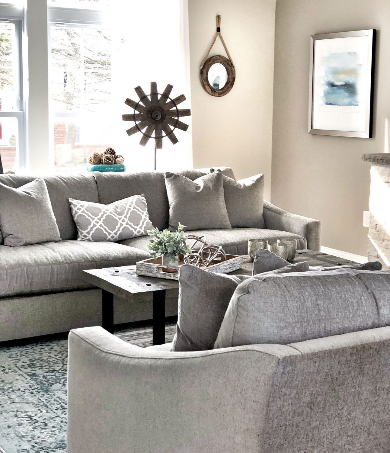Lavallette New Jersey - Living Room Interior Design