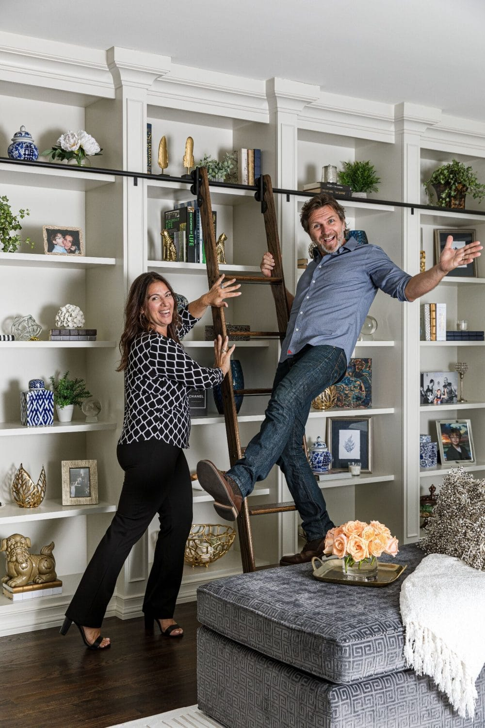lisa and rick cressman - evenflo interiors