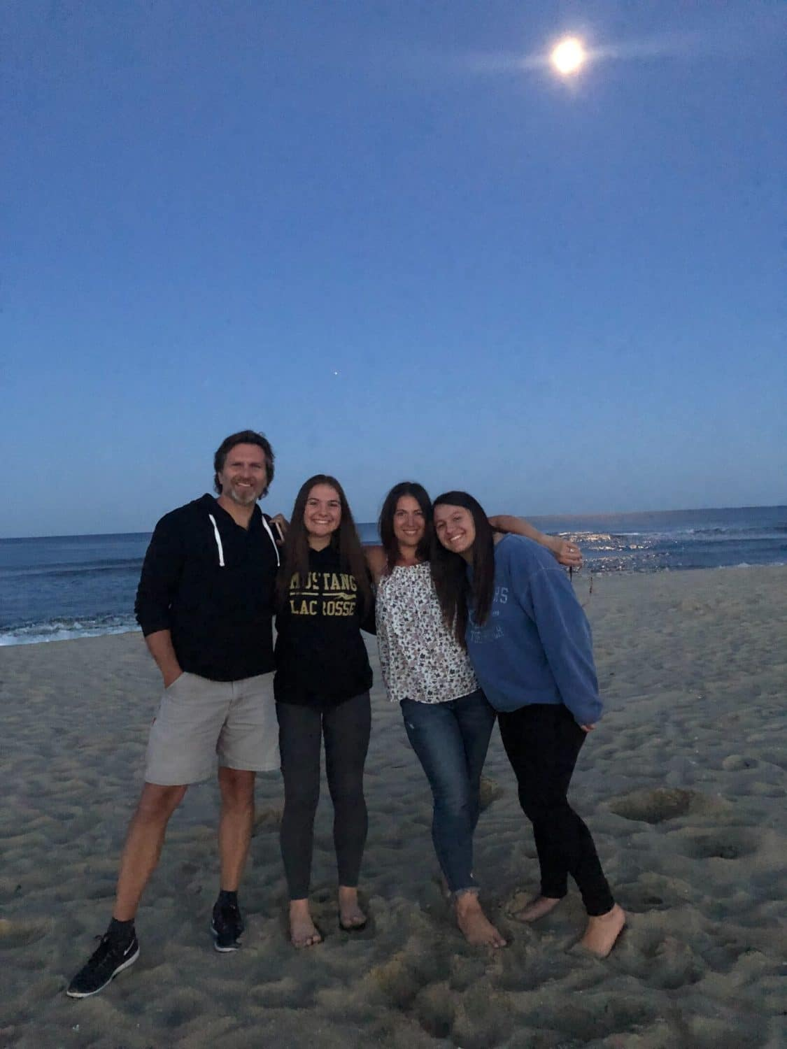 interior designer on jersey shore with her family