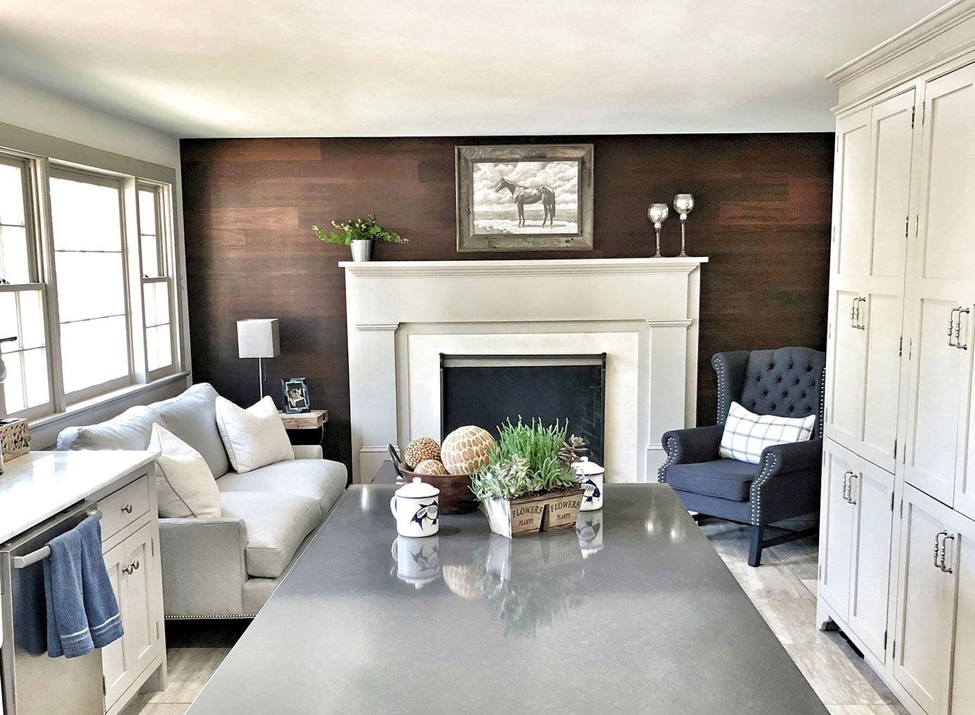 Fireplace Mantels - Evenflow Interiors