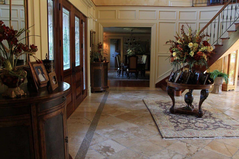 Elegant Tiled Floors - Evenflow Interiors
