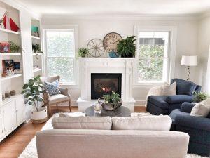 interior designer fireplace
