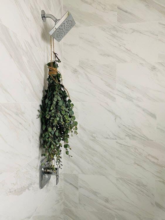Try a eucalyptus steam shower