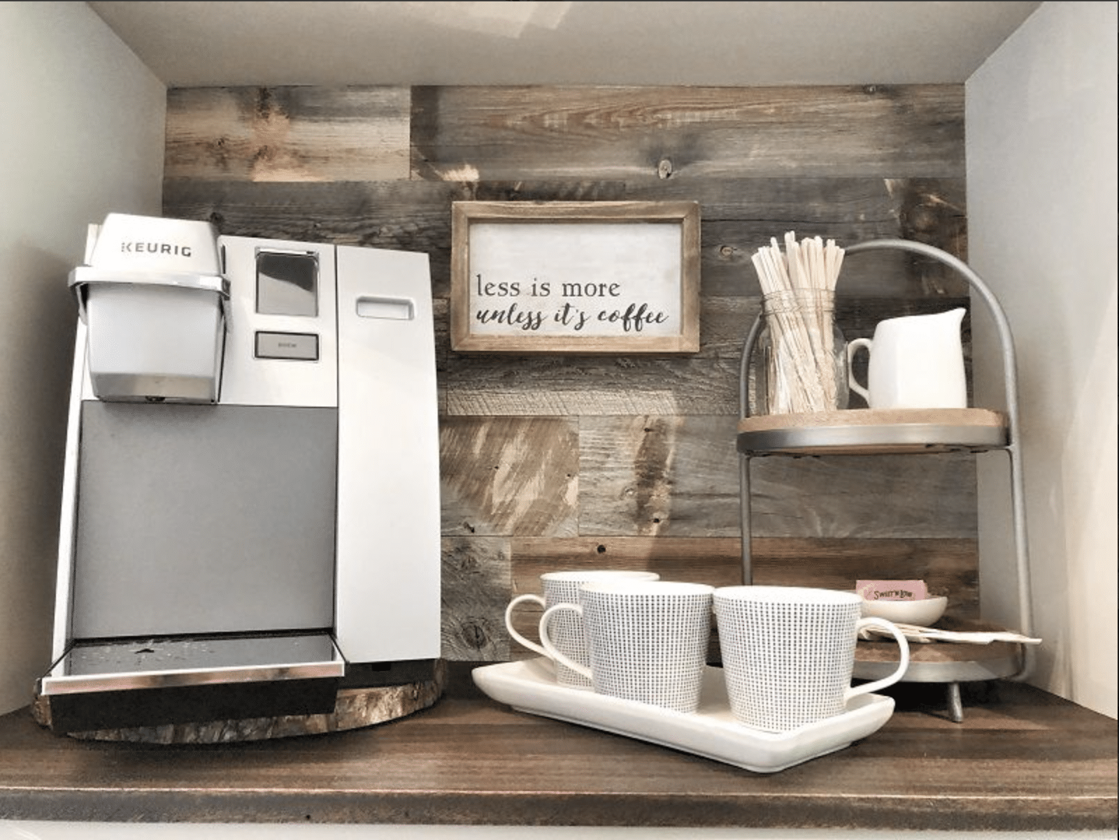 Amp up your coffee bar.